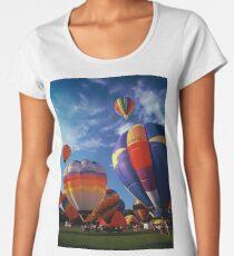 Balloon Race Women's Premium T-Shirt