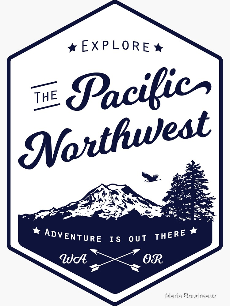 Explore the Pacific Northwest (outlined) by riabou