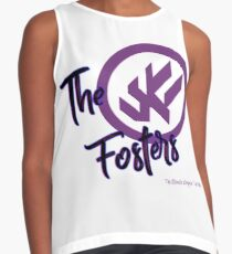 """The Fosters Band Shirt - """"The Ultimate Wingman"""" Klance Fic (Color Logo) Contrast Tank"""