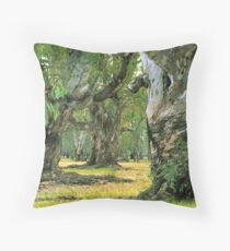 River Red Gums Throw Pillow