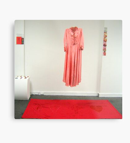 'Mourning Gown For The Bringer of Death' studio installation Metal Print