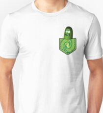 Pickle Rick In My Pocket - Rick & Morty T-Shirt