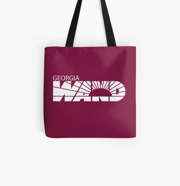 Georgia WAND Collectibles All Over Print Tote Bag