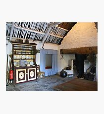 Bunratty cottage kitchen Photographic Print