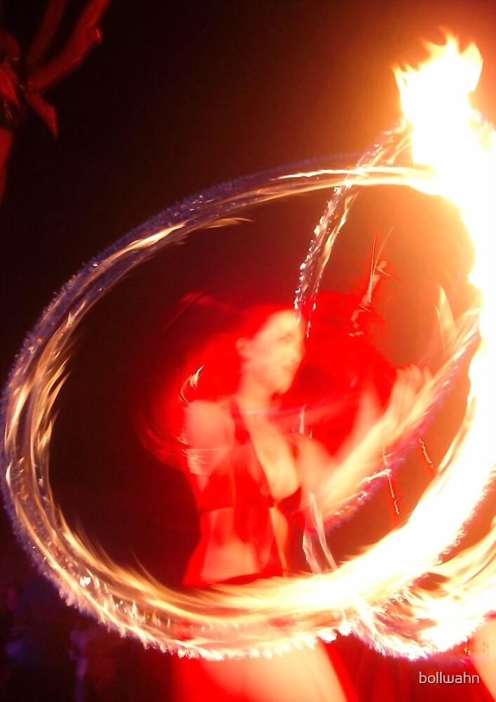 Girl In Fire by bollwahn
