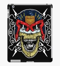 I AM THE LAW, I AM YOUR DOOM! iPad Case/Skin
