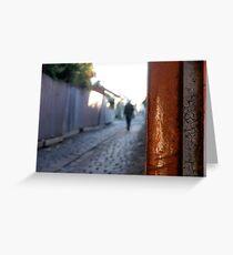 Laneways and dreams # 1 Greeting Card