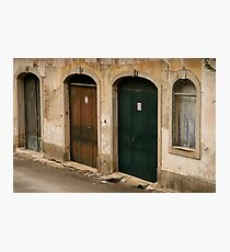 Sintra doors Photographic Print