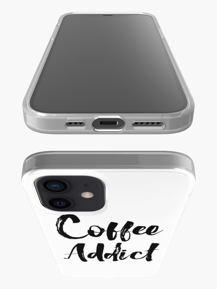 Alternate view of Coffee Addict iPhone Case & Cover