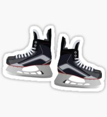 Hockey Skates Sticker