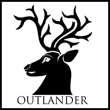 Outlander Stag Head by sireesanwar