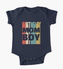 Cute Vintage Birthday Boy Mom T-Shirt Kids Clothes