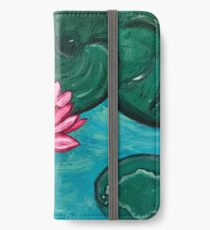 Pretty Water Lily iPhone Wallet/Case/Skin