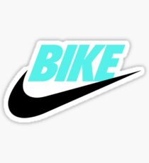 FIXED BIKE & NIKES Sticker