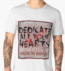 Shinzou wo Sasageyo! - AOT Men's Premium T-Shirt