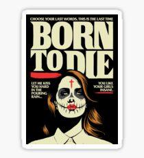 Born Sticker