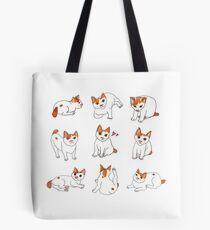 Nine Cats Tote Bag