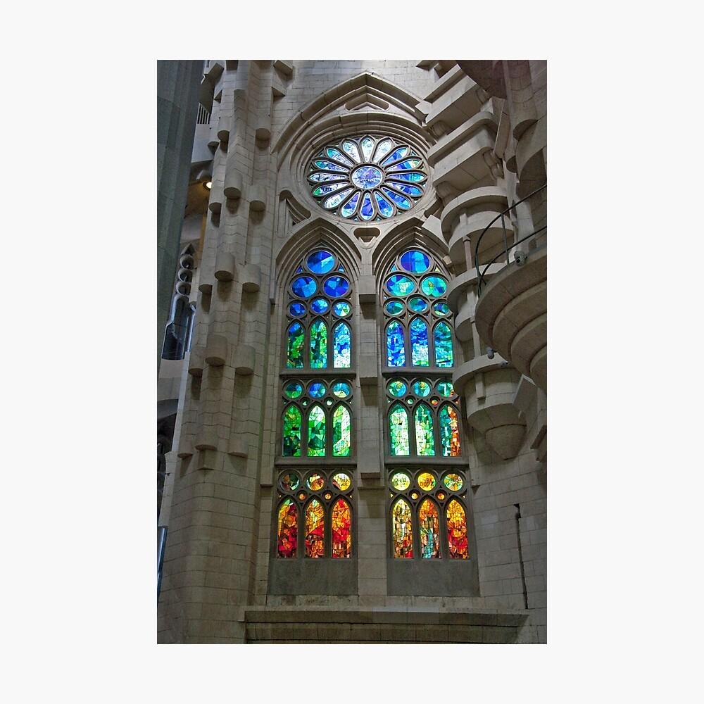 Stained Glass Art Lámina fotográfica