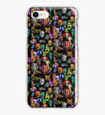 horror collection print mini iPhone Case/Skin