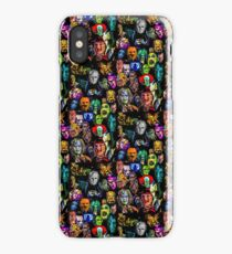 horror collection print mini iPhone Case