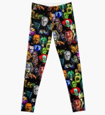 horror collection print mini Leggings