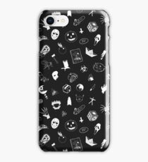 I LOVE HORROR iPhone Case/Skin