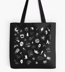 I LOVE HORROR Tote Bag