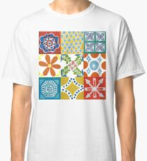 Colorful Ceramic Tiles Classic T-Shirt