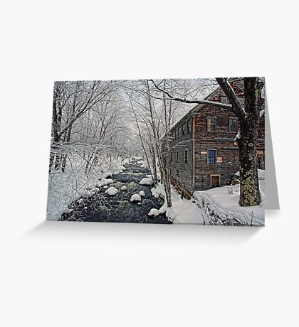 -The Old Mill On Stevens' Brook- Greeting Card