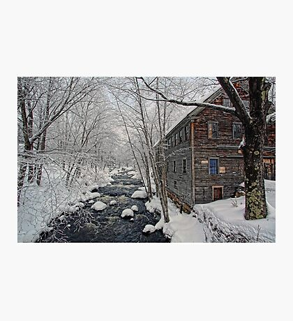 -The Old Mill On Stevens' Brook- Photographic Print