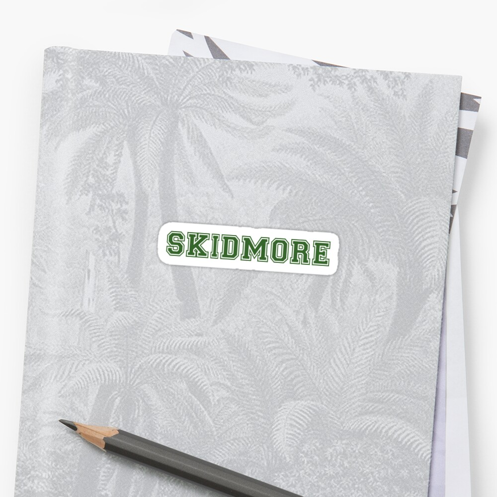 Skidmore Pegatina