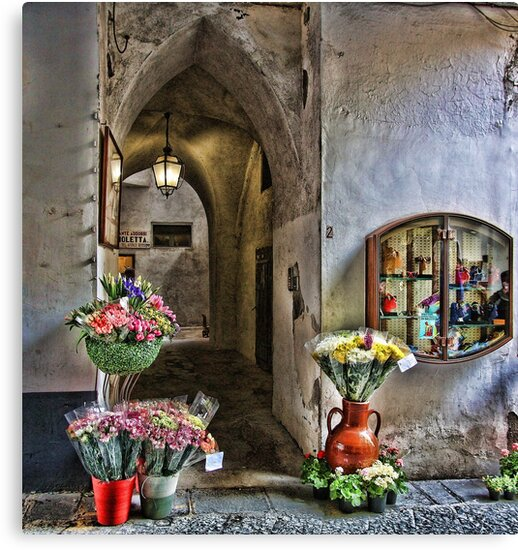 A Warm Welcome - Amalfi, Italy by T.J. Martin