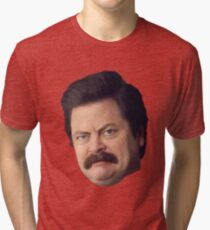Ron Face Tri-blend T-Shirt