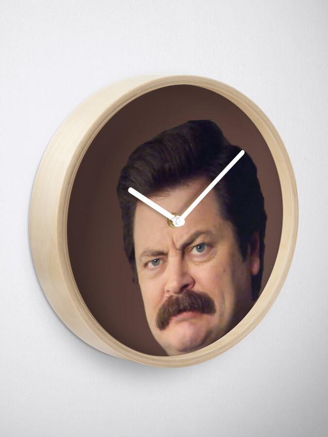 Alternative Ansicht von Ron Gesicht Uhr