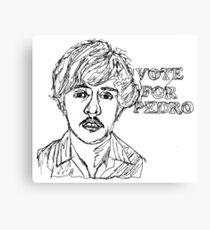 Vote for Pedro Canvas Print