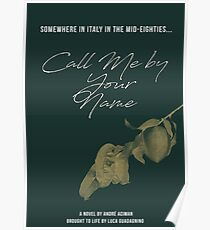 Call Me by Your Name (2) Poster