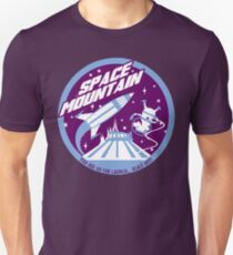 SPACE MOUNTAIN (purple and blue) T-Shirt