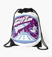 SPACE MOUNTAIN (purple and blue) Drawstring Bag