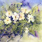 Mossy Primroses by Jacki Stokes