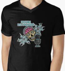 Brain Invaders Men's V-Neck T-Shirt