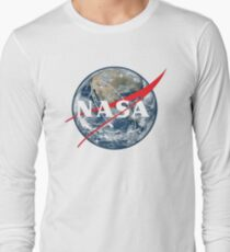 NASA View of Earth Long Sleeve T-Shirt
