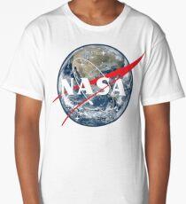 NASA View of Earth Long T-Shirt