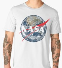 NASA View of Earth Men's Premium T-Shirt
