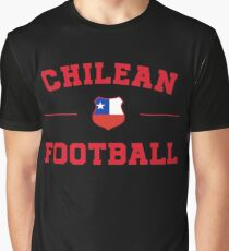 Chile Football Shirt - Chile Soccer Jersey Graphic T-Shirt