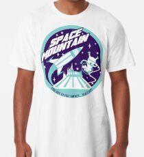 SPACE MOUNTAIN (blues) Long T-Shirt