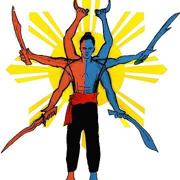 Filipino Martial Arts Blades by Jingim24