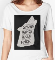House Stark Women's Relaxed Fit T-Shirt