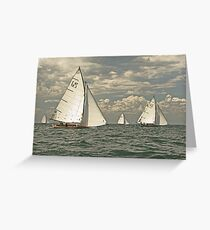 Sail on by Greeting Card