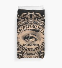 Ouija with Mystic Eye Duvet Cover