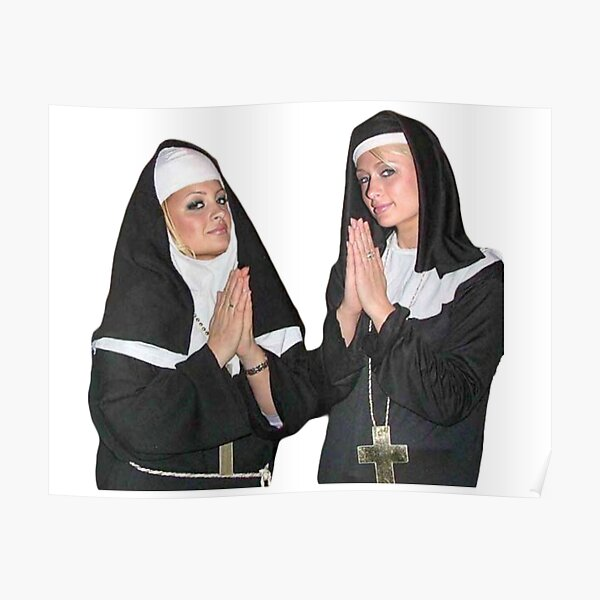 Saint Paris Hilton and Nicole Richie Poster